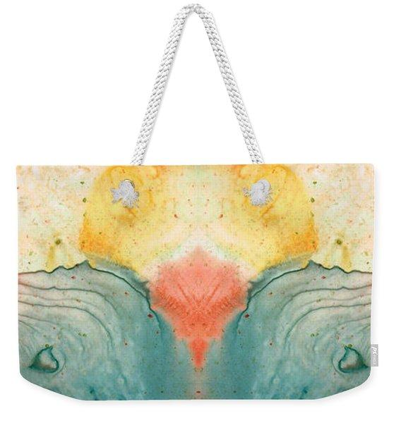 Soul Star - Abstract Art By Sharon Cummings Weekender Tote Bag