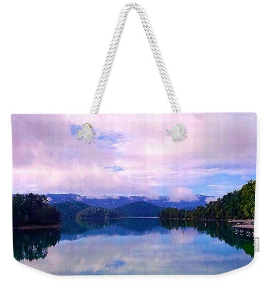 South Holston Lake Tn Weekender Tote Bag