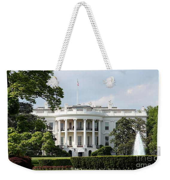 South Portico Of The White House Washington Dc Weekender Tote Bag