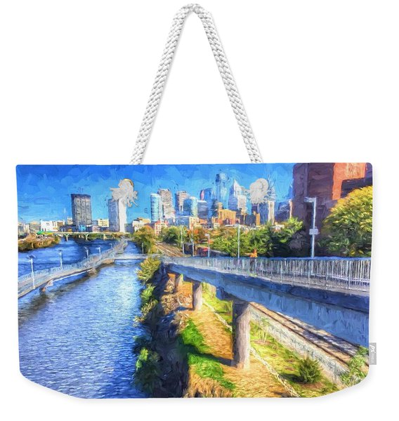 South Street Walk Weekender Tote Bag