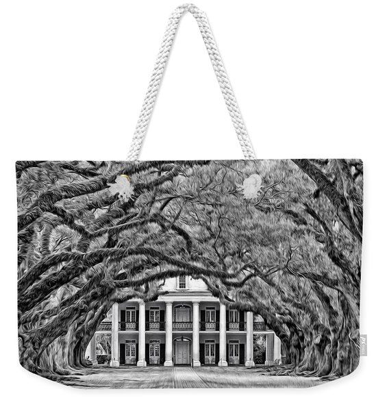 Southern Class Oil Bw Weekender Tote Bag