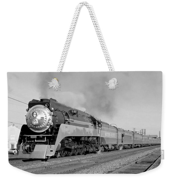 Southern Pacific Train In Texas Weekender Tote Bag