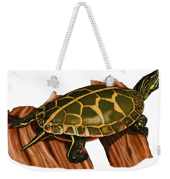 Southern Painted Turtle Weekender Tote Bag