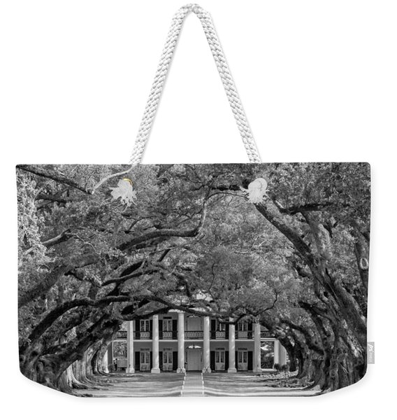 Southern Time Travel Bw Weekender Tote Bag