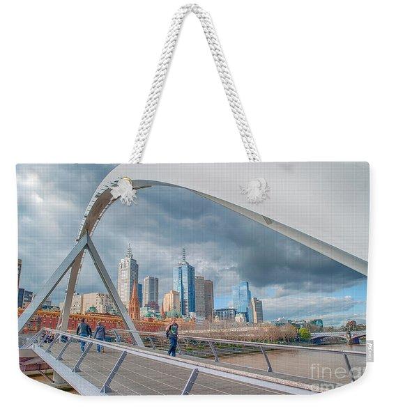 Southgate Bridge Weekender Tote Bag