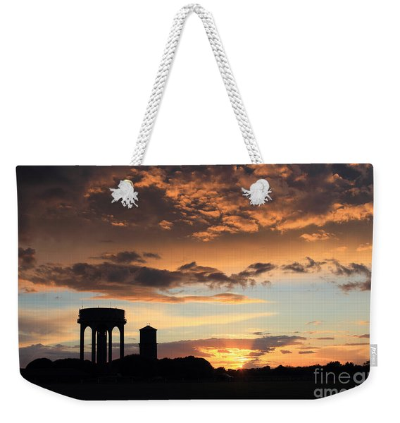 Water Towers On Southwold Common Weekender Tote Bag