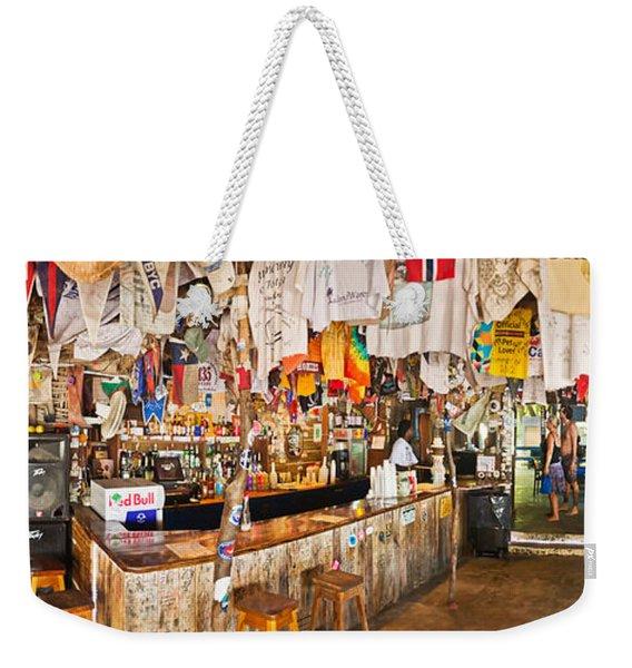 Souvenir Shop, Jost Van Dyke, British Weekender Tote Bag