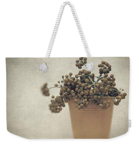 Souvenirs De Demain Weekender Tote Bag