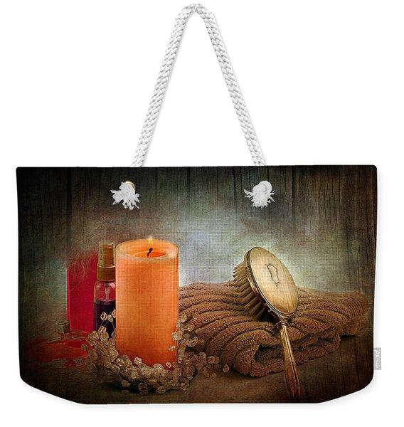 Spa Weekender Tote Bag