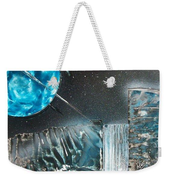 Space-fall Weekender Tote Bag