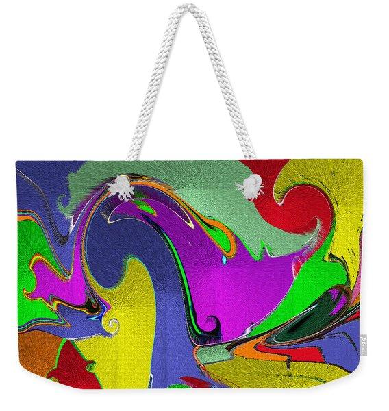 Space Interface Weekender Tote Bag