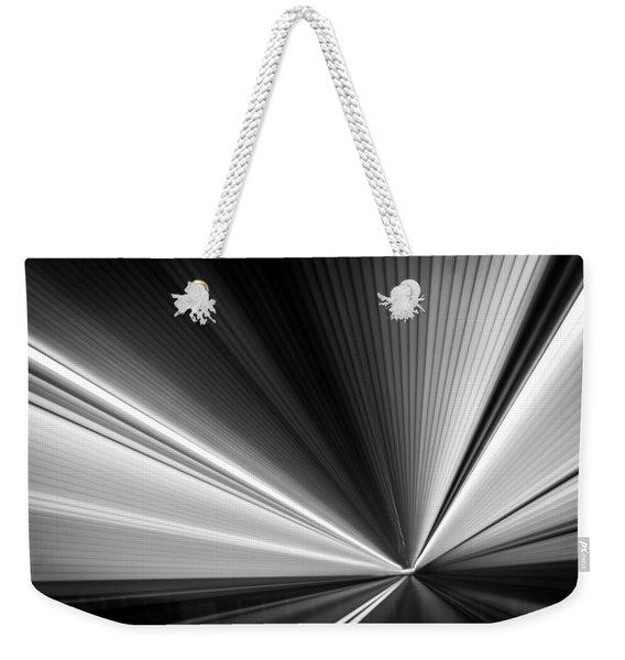 Space-time Continuum Weekender Tote Bag