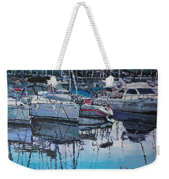Spain Series 05 Port Del Balis Weekender Tote Bag