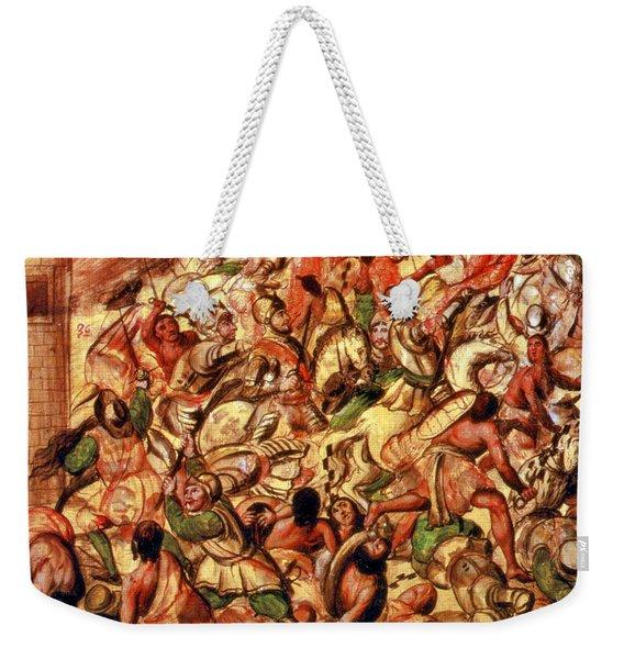 Spanish Conquest Of Mexico, La Noche Weekender Tote Bag