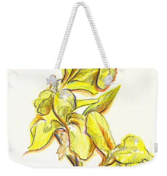 Spanish Irises Weekender Tote Bag