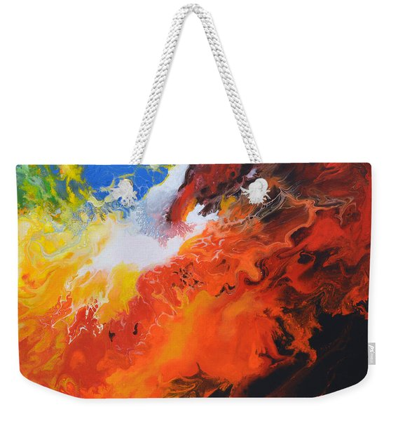 Spark Of Life Canvas Three Weekender Tote Bag