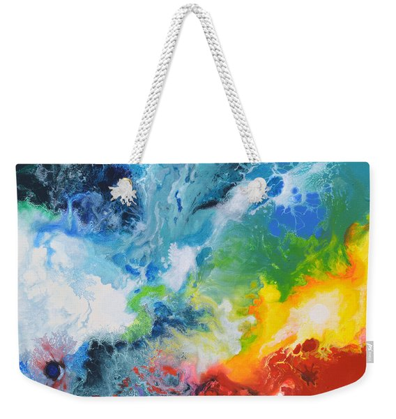 Spark Of Life Canvas Two Weekender Tote Bag