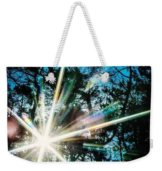 Sparks Fly Weekender Tote Bag