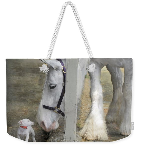 Sparky And Sterling Silvia Weekender Tote Bag