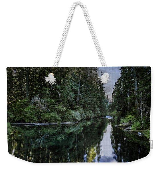 Spawning A River Weekender Tote Bag