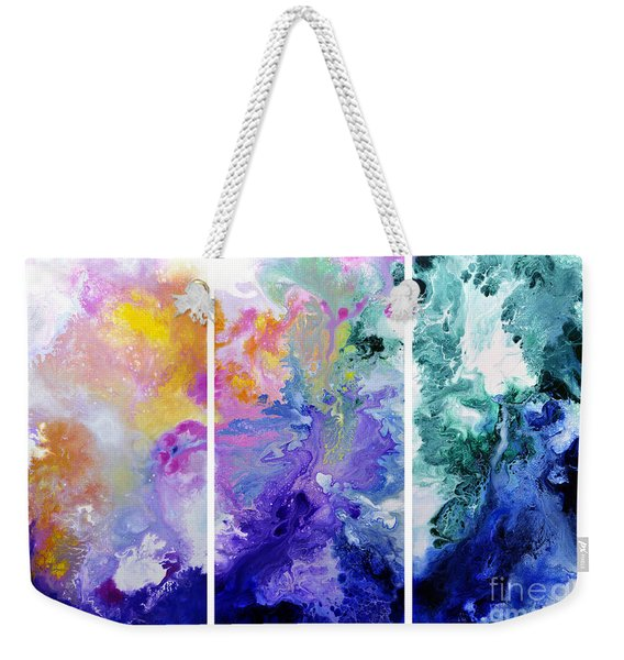 Speak To Me Weekender Tote Bag