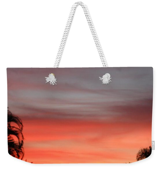 Spectacular Sky View Weekender Tote Bag