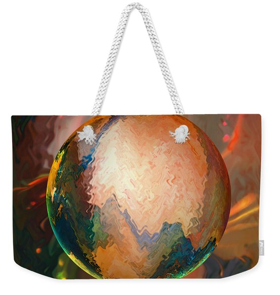 Sphering Lunar Vibrations Weekender Tote Bag