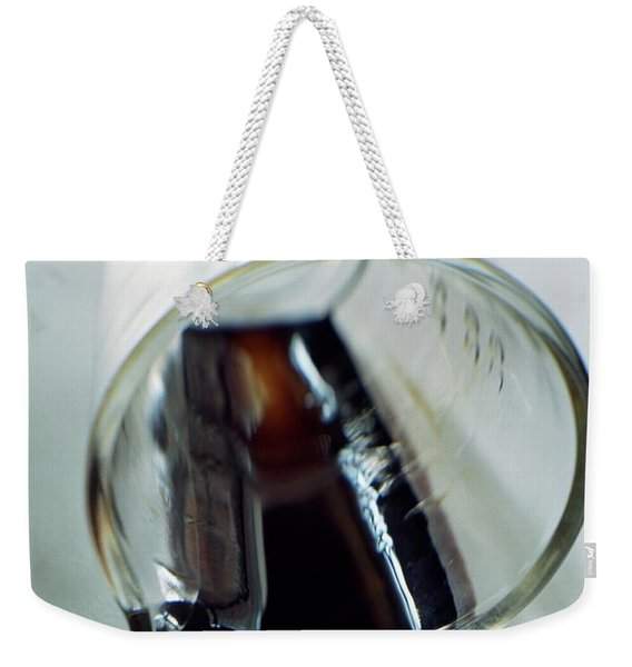 Spilled Balsamic Vinegar Weekender Tote Bag