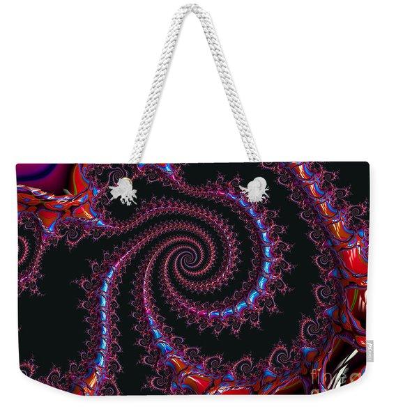 Spinal Twist Weekender Tote Bag