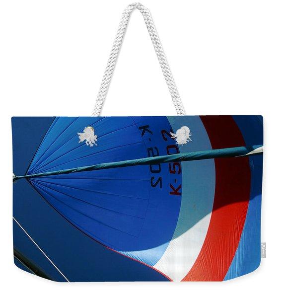 Spinnaker Flying Weekender Tote Bag