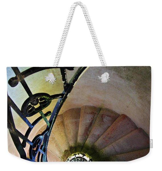 Spinning Stairway Weekender Tote Bag