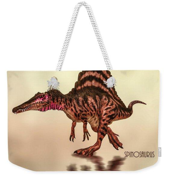 Spinosaurus Dinosaur Weekender Tote Bag