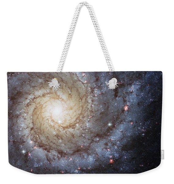 Spiral Galaxy M74 Weekender Tote Bag