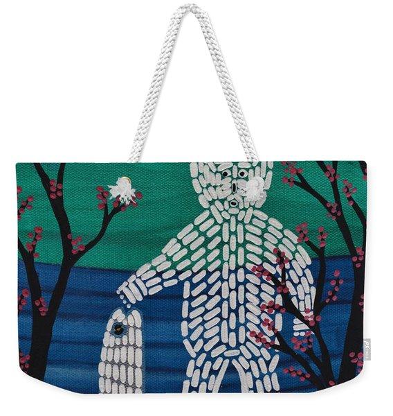 Spirit Bear Bella Coola Weekender Tote Bag