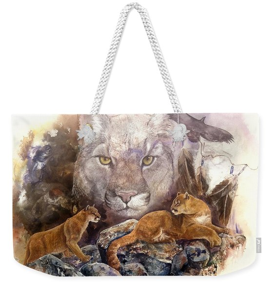 Spirit Cat Weekender Tote Bag