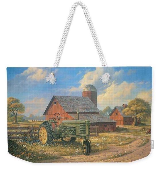 Spirit Of America Weekender Tote Bag