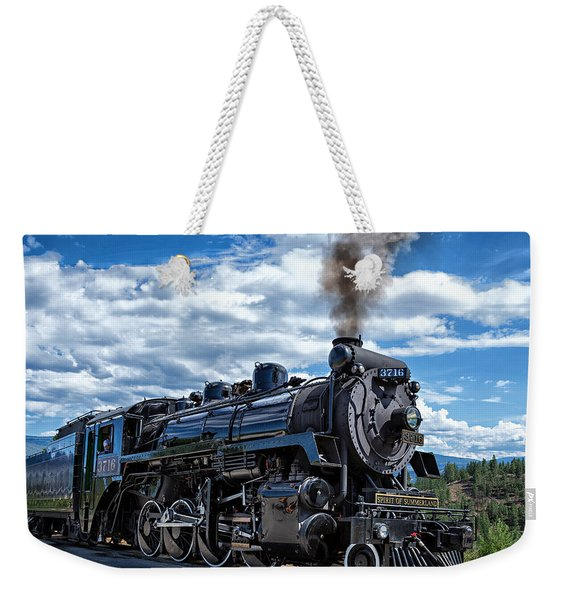 Spirit Of Summerland Weekender Tote Bag
