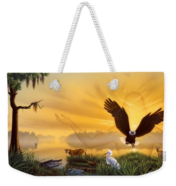 Spirit Of The Everglades Weekender Tote Bag