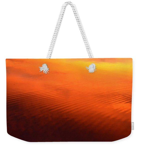 Splash Of Sunset  Weekender Tote Bag