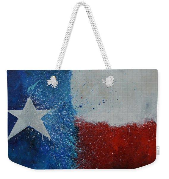 Splash Of Texas Weekender Tote Bag