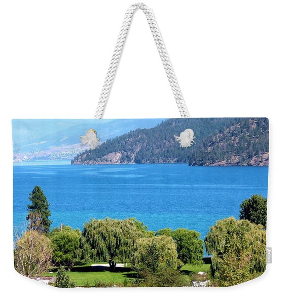Splendid Kalamalka Lake Weekender Tote Bag