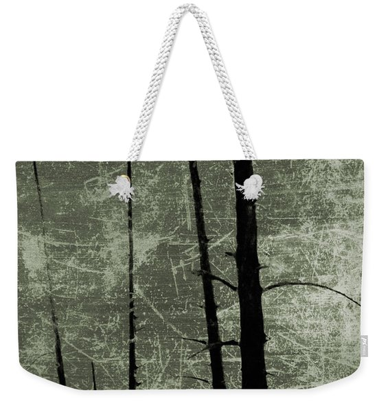 Spooky Forest Weekender Tote Bag