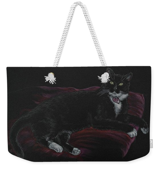 Spooky The Cat Weekender Tote Bag