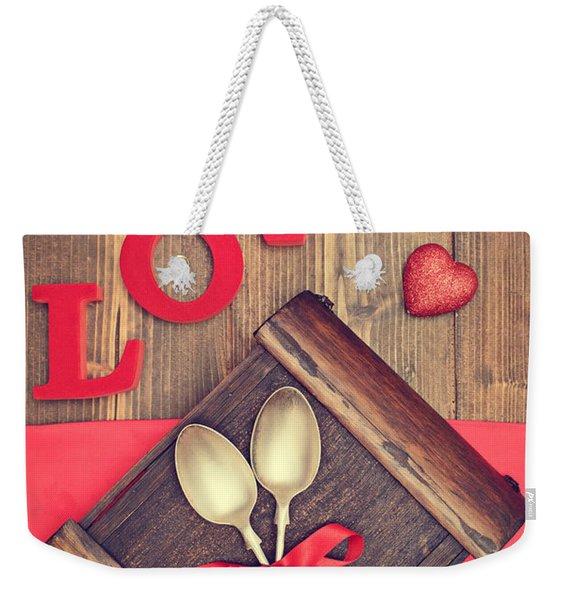 Spoons Weekender Tote Bag
