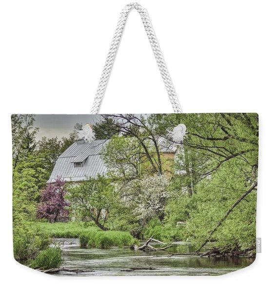 Spring Arrives At The Rose Farm Weekender Tote Bag