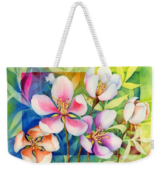 Spring Ballerinas Weekender Tote Bag