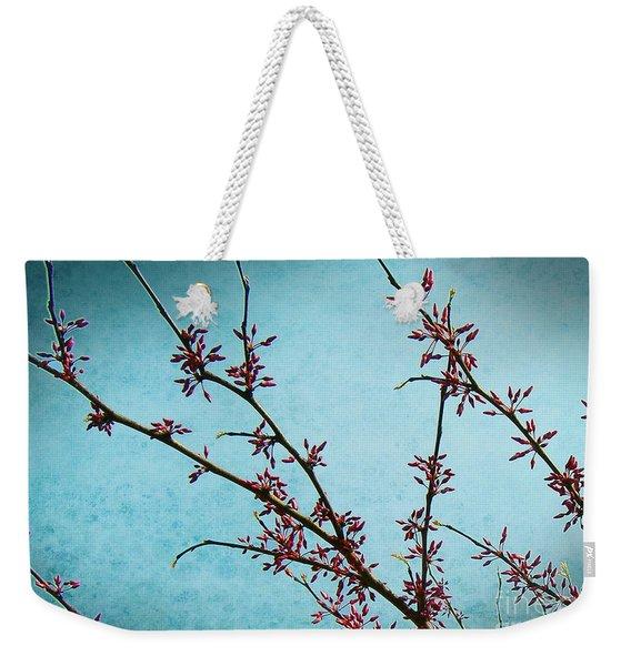 Spring Buds Weekender Tote Bag