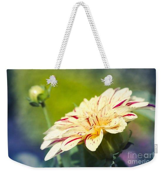 Spring Dream Jewel Tones Weekender Tote Bag