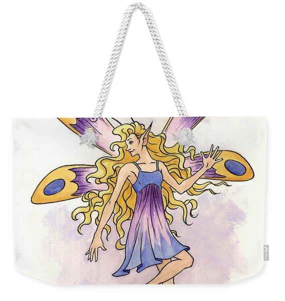 Spring Fairy Weekender Tote Bag