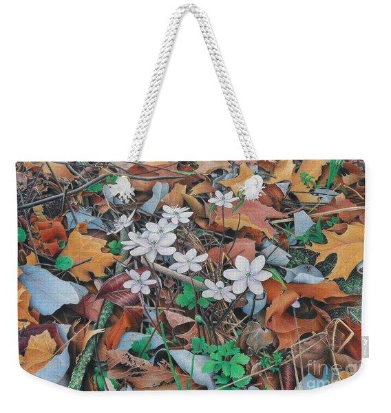 Spring Forward Weekender Tote Bag